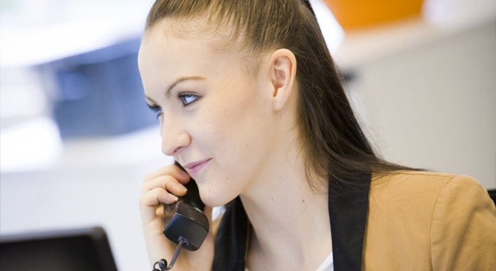 Business telecoms customer service